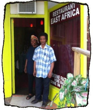 owners of East Africa Restaurant
